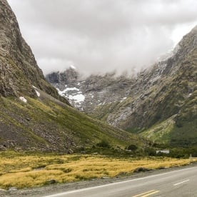 Homer Tunnel, Fiordland New Zealand