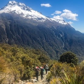 Walking the Key Summit Trail, Fiordland New Zealand