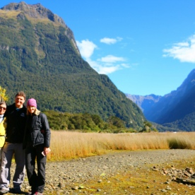 9 group mitre peak milford sound