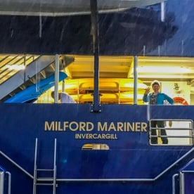 Aboard the Milford Mariner, Fiordland New Zealand