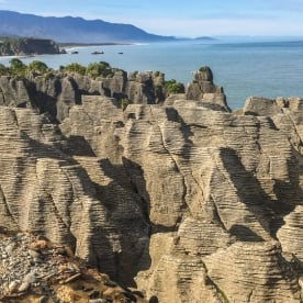 Punakaiki pancake rocks, West Coast New Zealand