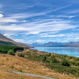 Lake Pukaki, Otago New Zealand