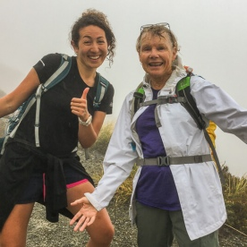 Guest and guide at Aoraki Mount Cook, Canterbury New Zealand