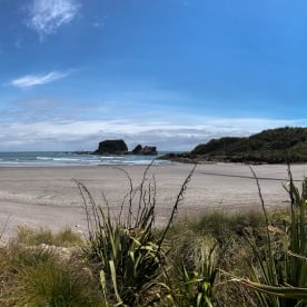 Punakaiki beach, West Coast New Zealand