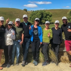 Group at Valley brewing company, Canterbury New Zealand