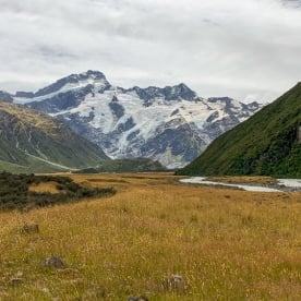 Hooker Valley, Canterbury New Zealand