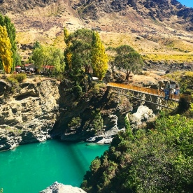 Wild Earth Winery set along the turquoise Kawarau River