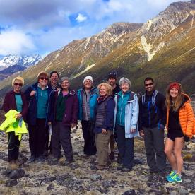 Group at Hooker Valley