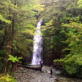 Giants Gate Falls on the Milford Track