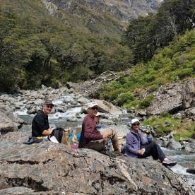 Arthurs Pass Hiking Lunch