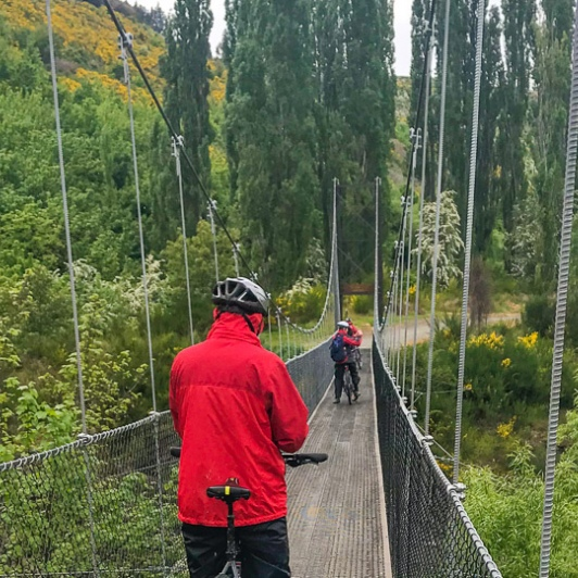 Cycling Queenstown trail network