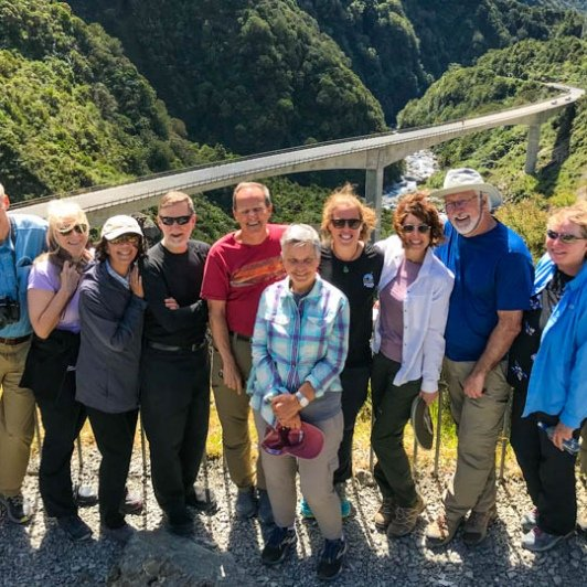 Group in Arthurs Pass