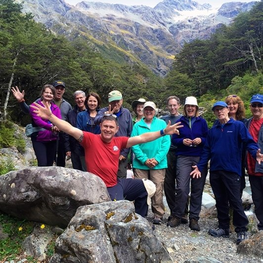 nz trails hiking group at arthurs pass new zealand