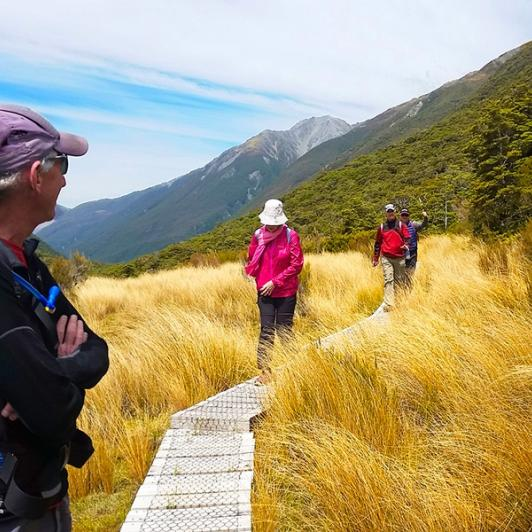 Lovely day for a walk in the Arthurs Pass National Park