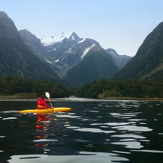 Kayaking at Harrison Cove