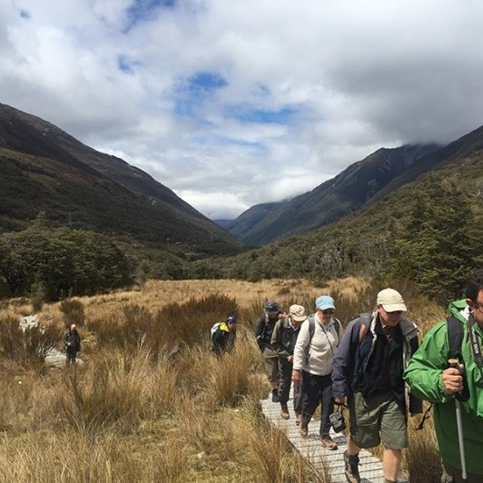 Walking in Arthurs Pass New Zealand