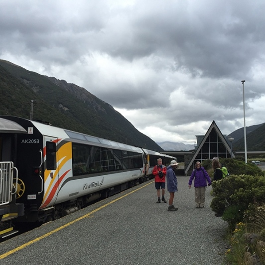 TranzAlpine to Arthurs Pass