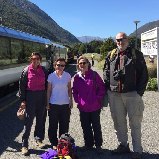 TranzAlpine Train to Arthur's Pass