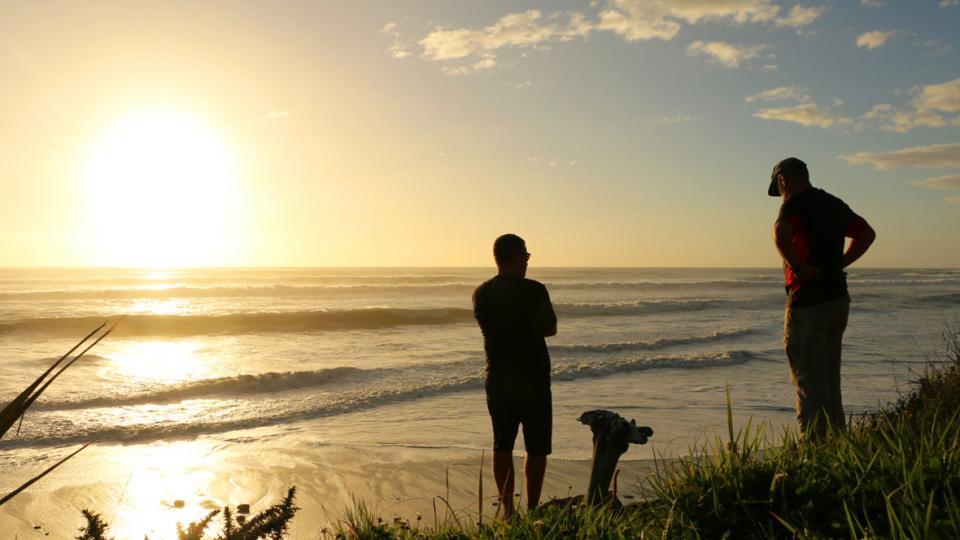 11 sunset west coast new zealand
