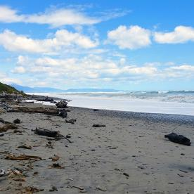 Hiking Haast Beach