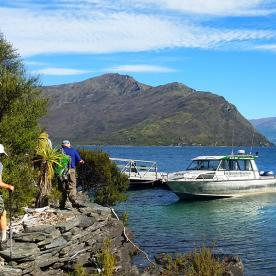 Boating Tour on Lake Wanaka