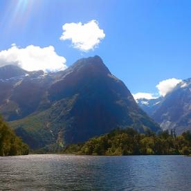 View on Milford Sound
