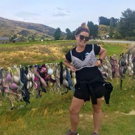 Guide at Cardrona Bra Fence