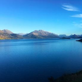 Wow! This view up Lake Wakatipu towards Glenorchy from Bennets Bluff is always breathtaking.