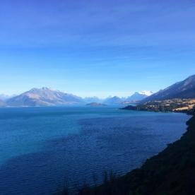 view of lake wakatipu new zealand