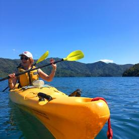 Sea Kayaking at Queen Charlotte Sound