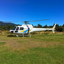 Our transport to Martin's Bay lodge on the coastal end of the Hollyford track.