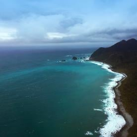 Scenic Flight over the coastline of the Fiordland National Park