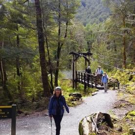 Routeburn Track Hiking