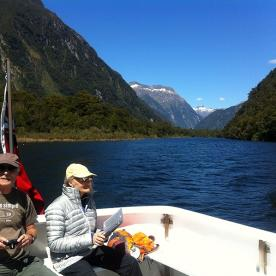 Cruise across Milford Sound