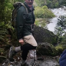 Ready for rain on the Milford Track