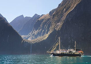 Cruise the iconic Milford Sound