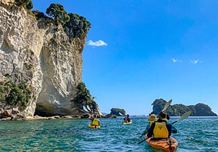 sweet north kayaking cathedral cove