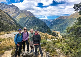 world heritage routeburn track