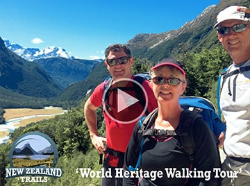New Zealand World Heritage Walking Tour Video